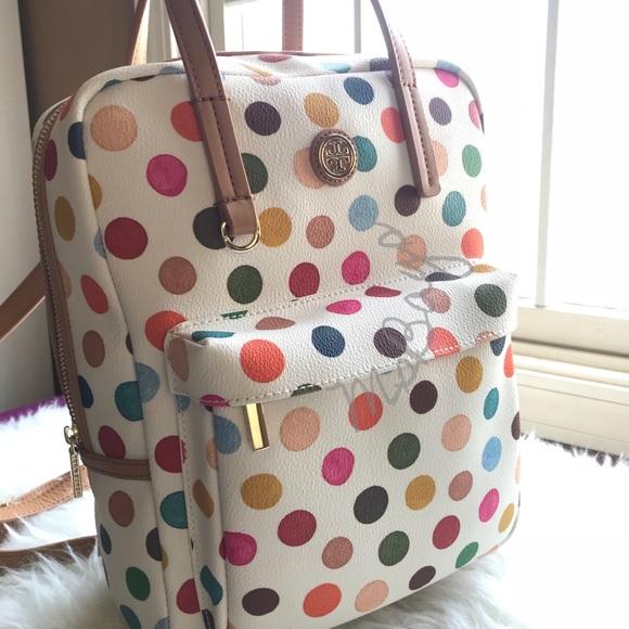1047396c7732 NWT Tory burch Kerrington Top Handle Backpack